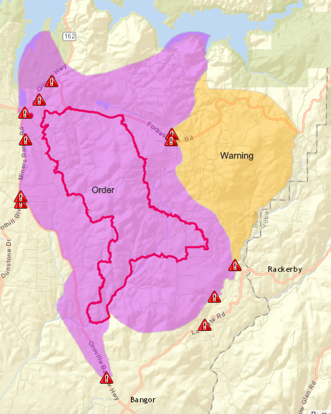 Wall Fire Update 95 Percent Contained Evacuations Road Closures