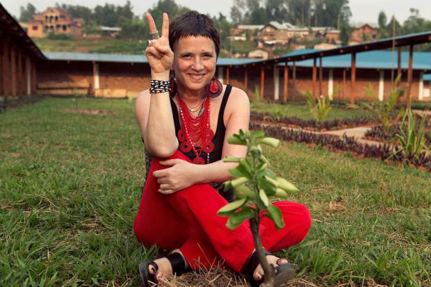 Activist, playwright and performer Eve Ensler makes her way to Grass Valley in October.