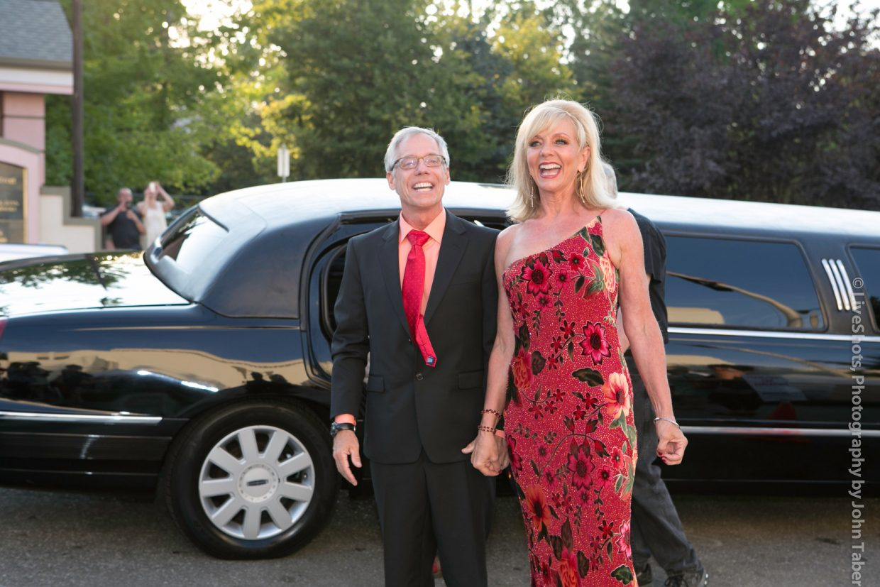 Arrive by limo for your grand entrance. Photo by John Taber