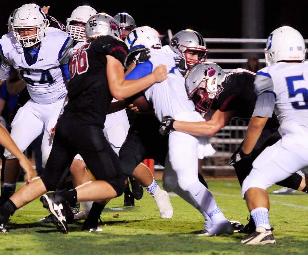 The Bear River defense held Orland to just seven points Friday night.