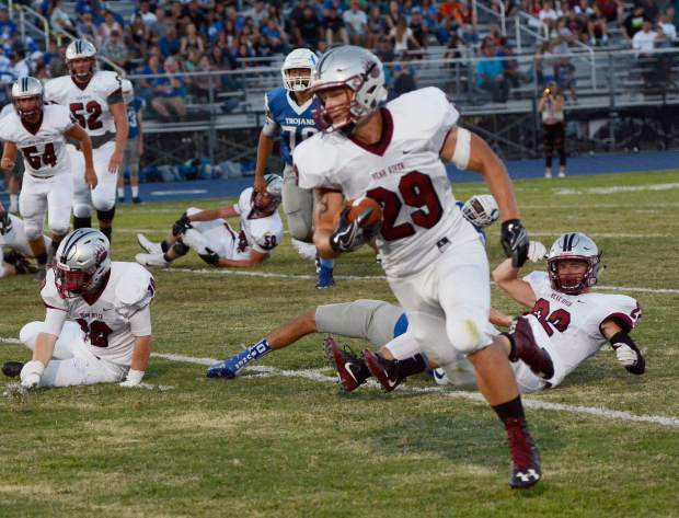 Bear River fullback Austin Baze will be an important cog in the Bruins offensive machine in 2017.