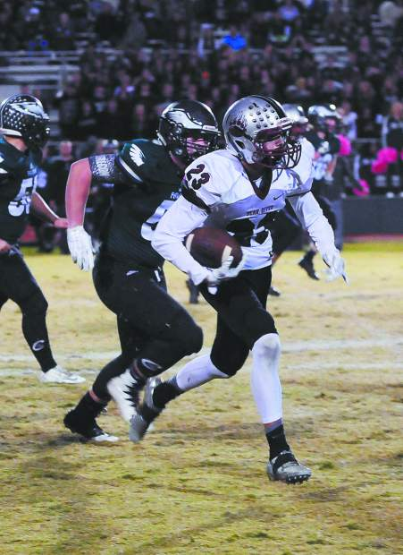 Bear River receiver Calder Kunde is a player to keep an eye on this season.