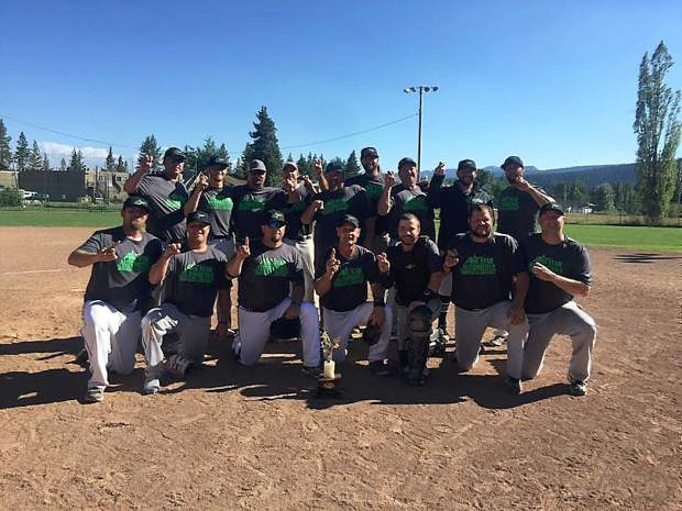 The Grass Valley based All-Star Automotive/10-35 FOundation team powered past the East Bay Bashers of Hayward, 8-6, to win the championship at the Pete 'n Peters Classic Sunday.
