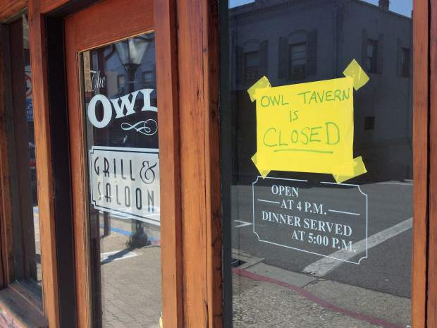 The Owl Grill & Saloon closes its doors