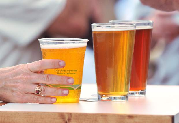 Grass Valley Brewing Company held a first taste of two of the beers that they will be brewing, a Sierra Sunrise Imperial Red, and the Brunswick Blonde. The brewery, hopes to be open by the end of the year.