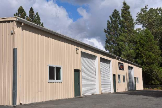 A commercial building along the 500 block of Searls Rd. in Nevada City is one of a few locations with the proper zoning and setbacks required for a medical cannabis dispensary business. The city has received a handful of applications for a dispensary storefront.