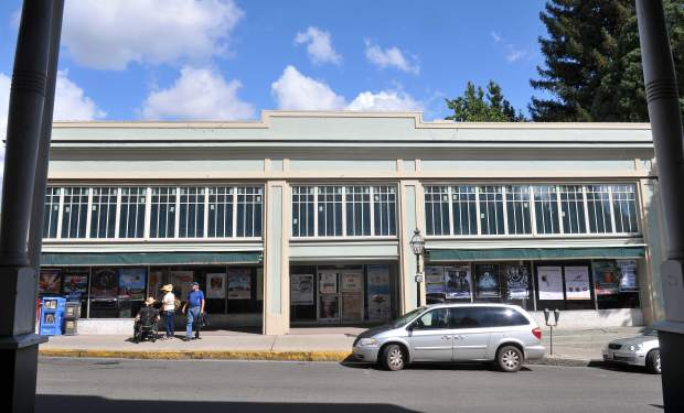 The Alpha Building in downtown Nevada City has been siting vacant though there has been much interest in the building according to owner Gary Tintle. The building is for sale or lease.