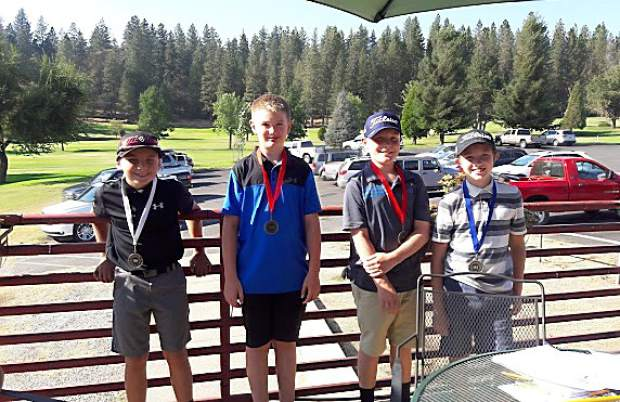 Dozens of young golfers took to the course at the Nevada County Country Club Sept. 17 for the first of four Nevada County Junior Golf Tour events.