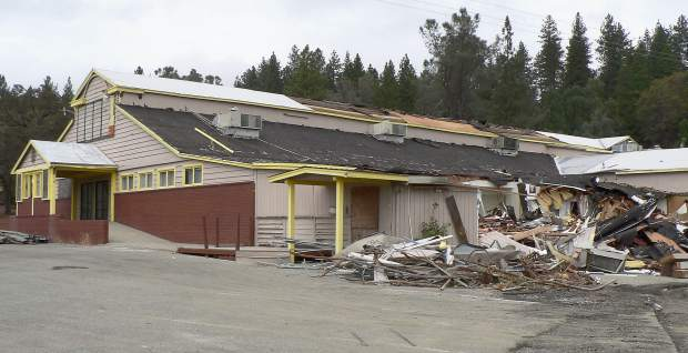 The Meek's Lumber Company building on Nevada City Highway will be demolished over the next few weeks, making way for a new Tractor Supply Company retail store.
