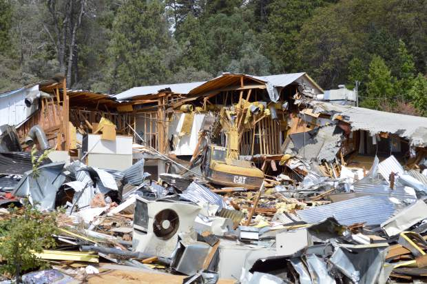 The property at 2391 Nevada City Highway had been a lumber yard since 1935. Meek's Lumber & Hardware, which closed in November 2011, purchased the property from Yuba River Lumber in 2001.