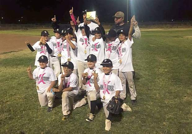The 10U Gold Country Bears have made it to the title game of all three of their tournaments this season, winning two and taking second in another.