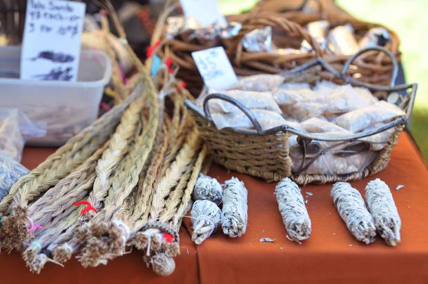 Native American arts, crafts, and supplies were made available during festivities taking place at Sycamore Ranch off of Highway 20 near Browns Valley in Yuba County.