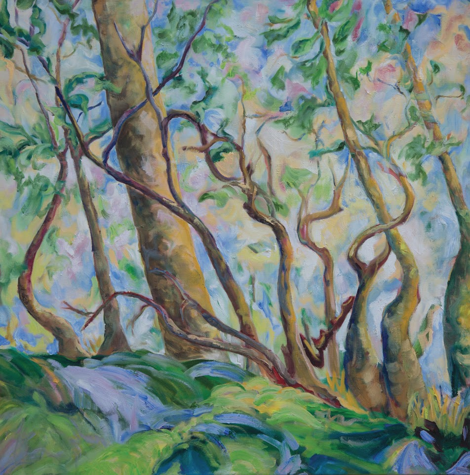 DancingTrees by artist Jill Mahanna.  Photo submitted by Center for the Arts