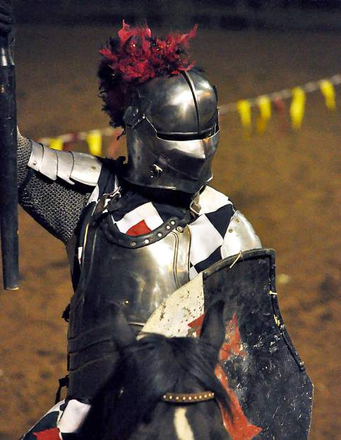 A knight captured at this past weekend's Celtic Festival.