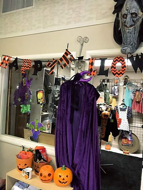 The Women of Worth non-profit organization has a Boutique Reshop located at 224 Church Street in Nevada City. Staff just finished setting up their Halloween costume and decorations room. All proceed go to helping women and children who are victims of domestic violence and human trafficking.