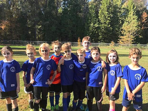 The Panthers came to play as soccer zombies. The Gold Country Youth Soccer League held its annual Halloween Jamboree Saturday on multiple fields across Nevada County.