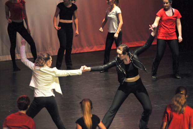 Excerpts of original choreography from the Michael Jackson song