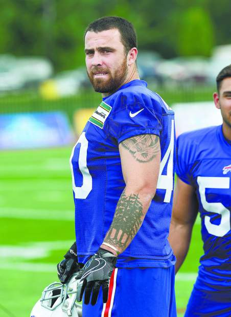 Tanner Vallejo, a 2013 Nevada Union graduate and a rookie linebacker for the Buffalo Bills, missed the regular season opner against the Jets with a knee injury. He was a full participant in Friday's practice and is likely to make his regular season debut Sunday when the Bills visit the Panthers.
