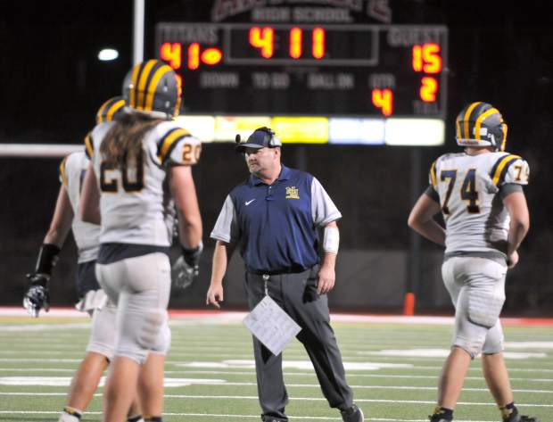 Dennis Houlihan stepped down as Nevada Union's varsity football head coach, ending a five year run at the helm of the Miners program.