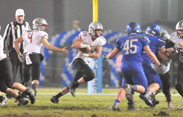 Bear River's Tre Maronic led all Bruins with 105 yards and a touchdown in the CIF NorCal 5-A Regional Bowl Game Saturday.