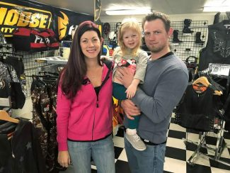 Meet your merchant: Raised on off-roading, Lance and Jennah McIntosh now have their own store catering to dirt bikers and ATVs