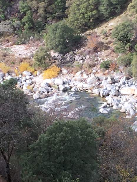 View of the South Yuba River from Independence Trail.