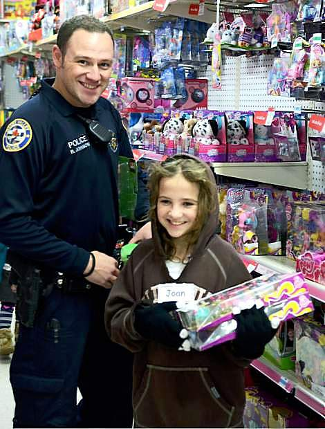 Kids will have the chance to pick out any gift they like Saturday while they