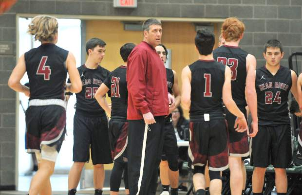 Bear River head coach Jeff Bickmore took over the Bruins boys team this season and has led them to a Ganskie Invitational Tournament Championship and a winning record against non-league foes.