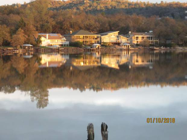 Photo of Lake Wildwood just as the sun was setting on Wednesday evening.