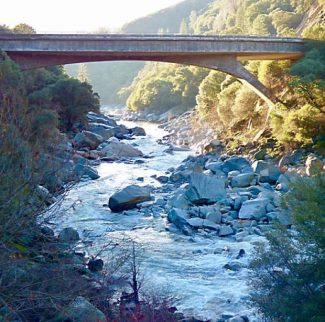 Nevada County Captures: Doggie, bridge and gleaming sunrises