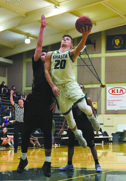 David O'Brien, a 2016 Bear River graduate, helped the Shasta College men's basketball team win the CCCAA's Golden Valley Conference Championship. For the season, O'Brien is averaging 5.3 points per game.