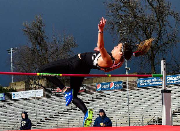 Melanie O'Brien, a 2014 Nevada Union graduate, won the heptathlon at the 33rd annual Chico Multi Classic.