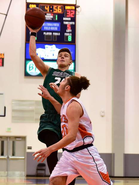 David O'Brien, a 2016 Bear River graduate, and the No. 11 seed Shasta College Knights came up just short of pulling off and early round playoff upset against No. 6 seed College of the Sequoias. O'Brien scored 10 points in the loss.