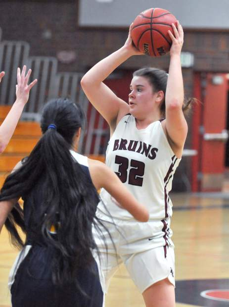 Bear River's Mallory Rath is averaging 11.9 points per game and 14.2 rebounds this season.