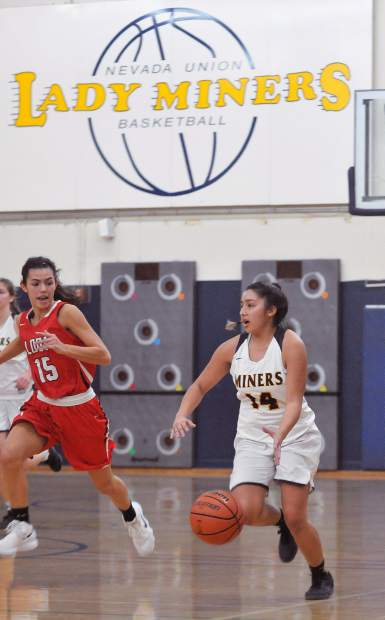 Nevada Union's Mixtli Cortez is one of the team's best ball handlers and outside shooters.