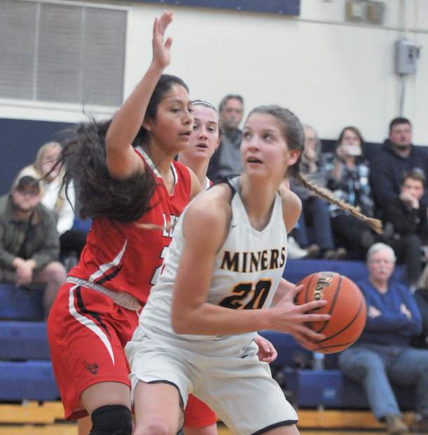 Nevada Union's Greta Kramer is a talented scorer and rebounder for the Lady Miners.
