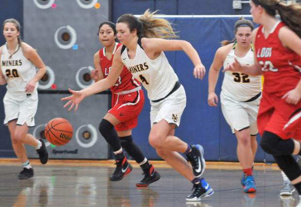 Nevada Union's Meadow Aragon is in her third year on the varsity team and leads the Lady Miners in scoring and rebounding.