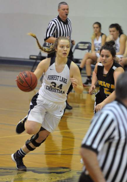Forest Lake Christian senior Johnna Dreschler leads the Sac-Joaquin Section in rebounding with 17.1 boards per game.