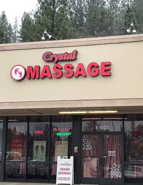 Asian massage crystal city