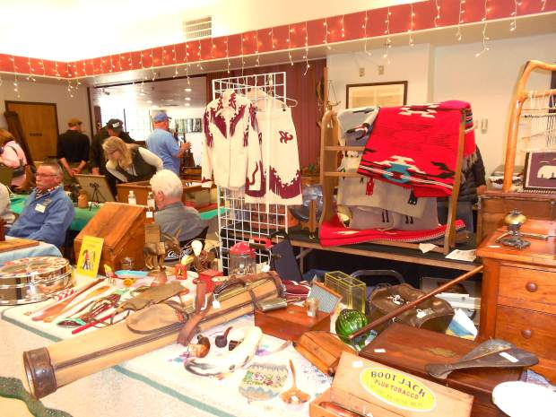 Digging for gold: 5th annual Antique Western Memorabilia Show from