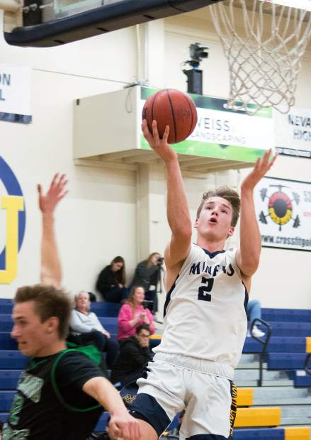 Nevada Union's Justin Gardner is a player to keep an eye on this hoops season. Gardner is averaging a little more than 11 points per game in his sophomore season.