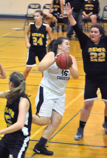 Forest Lake Christian junior Breezy Adams has come through with some strong play in the playoffs for the Lady Falcons.