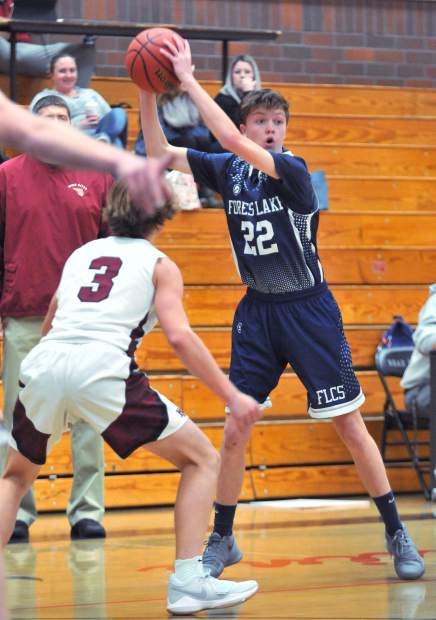 Forest Lake Christian's Luke Gilliland was named to the All-CVCL First Team.
