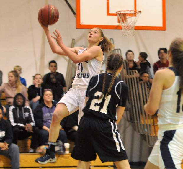 Forest Lake Christian's Amber Jackson was named to the All-CVCL First Team.