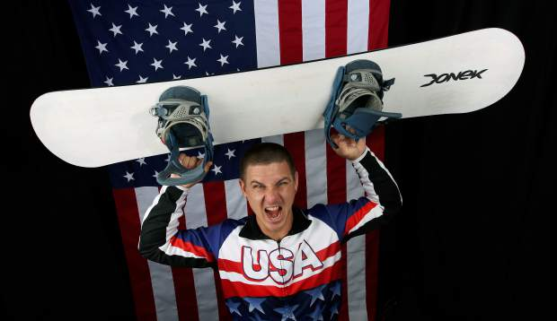 U.S. Olympic Winter Games Paralympic snowboarding hopeful Evan Strong poses for a portrait at the 2017 Team USA media summit Sept. 27 in Park City, Utah.