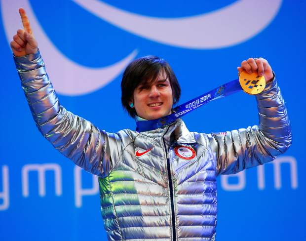 Evan Strong won the gold medal in men's para snowboard cross at the 2014 Paralympics. At the 2018 Games in PyeongChang, South Korea, Strong will be chasing gold in two events.