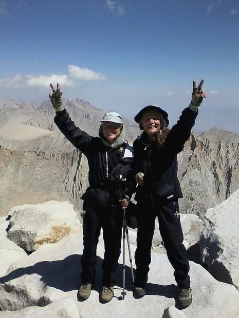For her 70th birthday, Annie Looby hiked with her sister, Judy, 221 miles of the John Muir trail, including 11 passes and summiting Mt. Whitney elevation 14,505 feet.