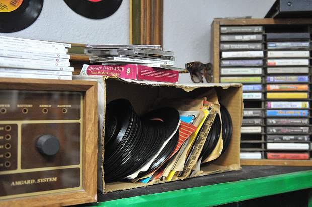 From vintage vinyl records, to clothes. sports equipment and dishware, the Bread and Roses Thrift & More store has it all.