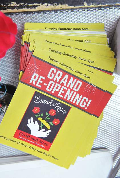 Hospitality House's thrift store, Bread and Roses, recently underwent a renovation, but is now back in business with proceeds to help area homeless.