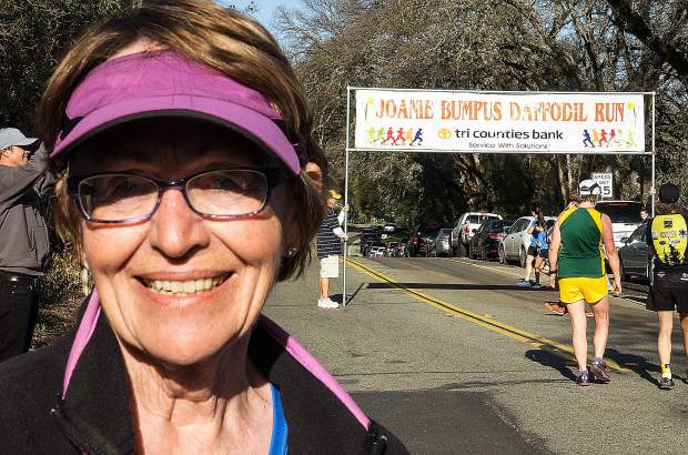 Joanie Bumpus is the founder of the Daffodil Run, run for the 18th time Sunday.